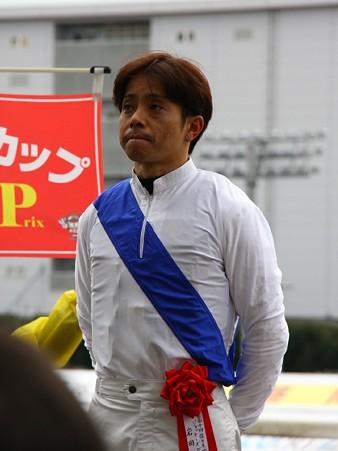 120124佐々木竹見カップ 騎手紹介式 岩田康誠騎手