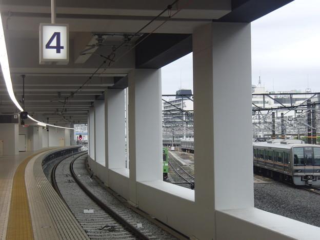 Photos: 近鉄京都駅4番線完成(1)