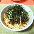 高菜のスパゲッティ…