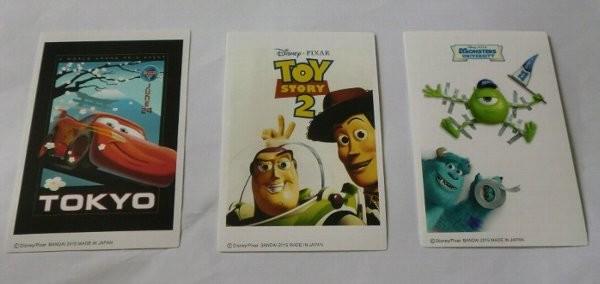 Photos: Disneyキャラクターズトレーディングポスターステッカー