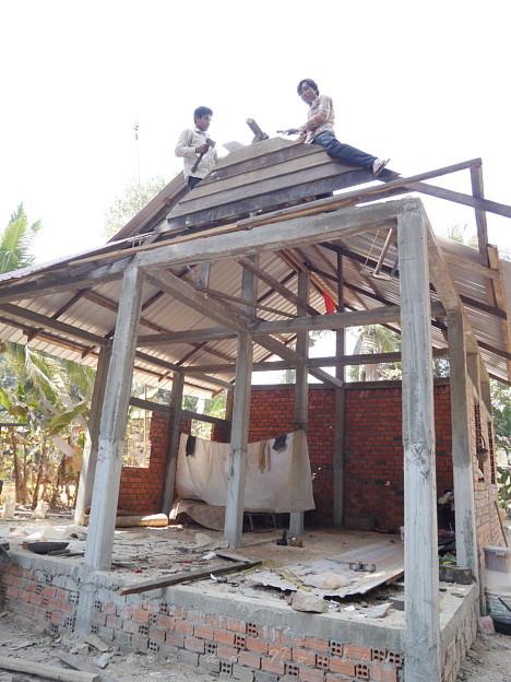 Photos: おうち作り22015.02.07カンボジア