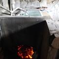Photos: おきで洗い場用の湯を沸かす2015.03.21広島 忠海