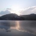 写真: 前川ダムにて 夜明け 2012.5月