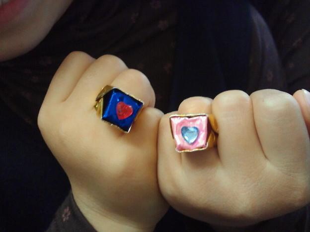 クリスマス 折り紙 指輪 折り紙 : photozou.jp