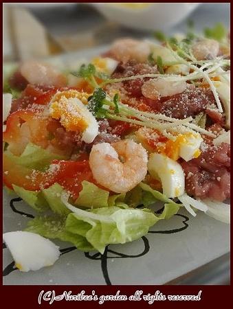 カルパッチョ風サラダ2