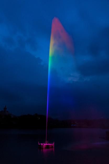 Photos: 虹の噴水