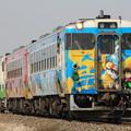 キハ48形1500番台キハ48-1513 普通女川行き