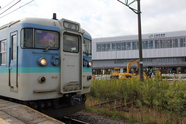 115系1000番台ナノN32編成 普通直江津行き