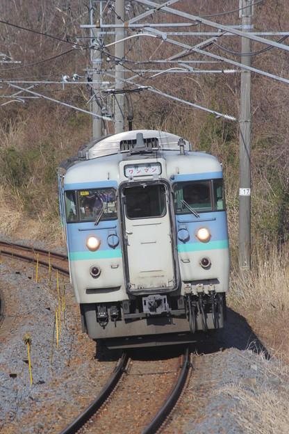 115系1000番台ナノN51編成 普通軽井沢行き