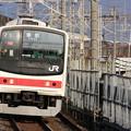205系ケヨ10編成 各駅停車東京行き