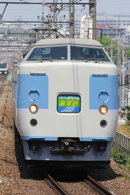 Photos: 189系トタM50編成 特急あずさ79号