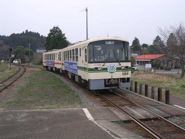 鹿島鉄道KR500形KR503 普通鉾田行き