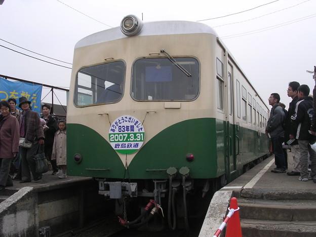 鹿島鉄道キハ430形キハ431 普通石岡行き