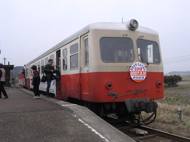鹿島鉄道キハ714形キハ714 普通石岡行き