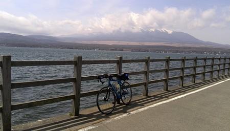 今年も来ました山中湖と富士山
