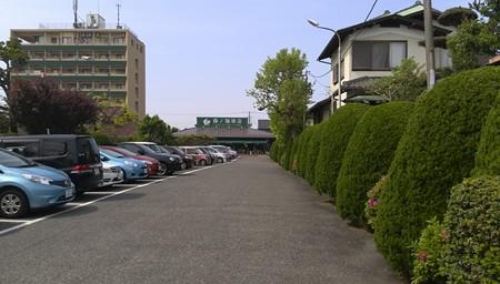 広い駐車場@森ノ珈琲店