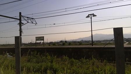 なにか大山と相武台下駅に旅情を感じる
