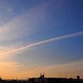 ジェット雲