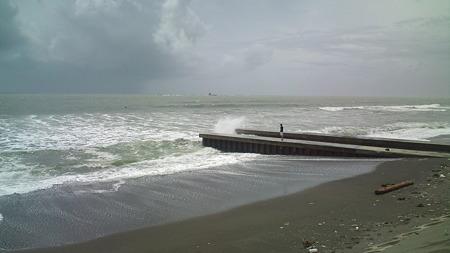 今日の湘南の海