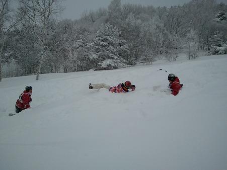 桶川中学校スキー教室@菅平高原2012-01-30 (3)