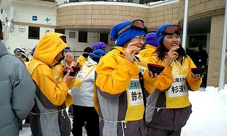 太平中学校 菅平汁20120206