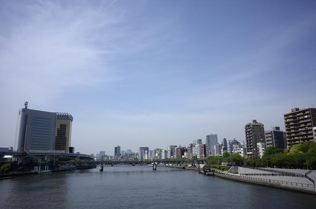隅田川通過