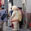 Photos: 矢場とんのマスコット「ブーちゃん」が店頭でPR! - 1