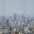 写真: 東山給水塔の一般公開 No - 042:展望階から見た景色(名駅ビル群)