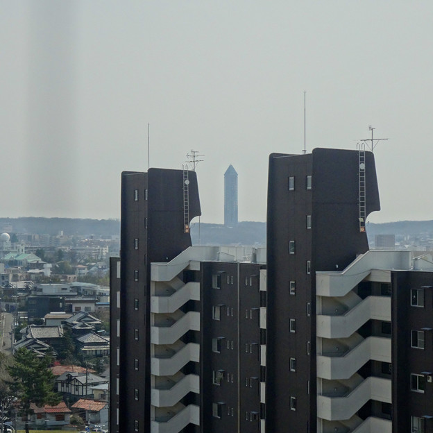 東山給水塔の一般公開 No - 056:展望階から見た景色(東山スカイタワー)