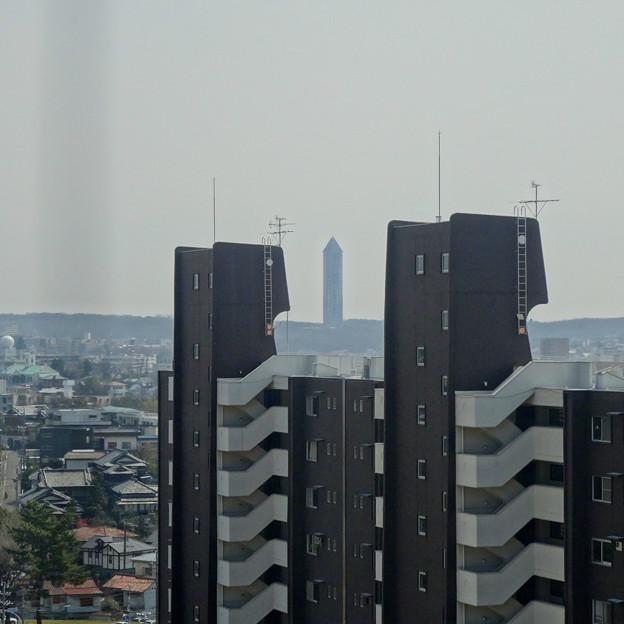 写真: 東山給水塔の一般公開 No - 056:展望階から見た景色(東山スカイタワー)