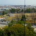 写真: 東山給水塔の一般公開 No - 062:展望階から見た景色(東山配水場5号配水池)