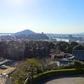 犬山成田山(2015年3月)No - 39:本堂前から見た景色(犬山城)