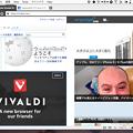 写真: Vivaldi 1.0.142.32:「Tile Tab Stack」で複数ページをまとめて表示可能に! - 4(3つのページをまとめて表示、Grid)