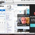 写真: Vivaldi 1.0.142.32:「Tile Tab Stack」で複数ページをまとめて表示可能に! - 7(4つのページをまとめて表示、Vertical)
