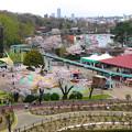 写真: 春の東山動植物園 No - 075:バラ園の展望台から見た景色(2015/4/4)