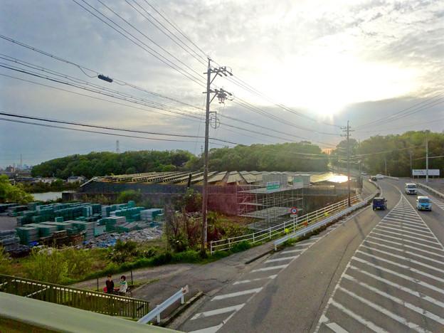 国道155号沿いの太陽光発電システム(春日井市金ケ口町)No - 3