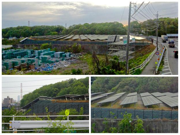 国道155号沿いの太陽光発電システム(春日井市金ケ口町)No - 6