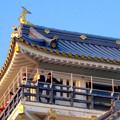 写真: 岐阜城 No - 15:夕暮れ時の岐阜城