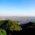 写真: 岐阜城天守閣から見た景色 No - 1:木曽川方面