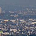 写真: 岐阜城天守閣から見た景色 No - 20:桃花台ニュータウンと中部大学