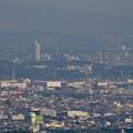 Photos: 岐阜城天守閣から見た景色 No - 21:桃花台ニュータウンと中部大学