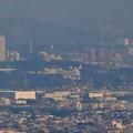 写真: 岐阜城天守閣から見た景色 No - 22:桃花台ニュータウンと中部大学