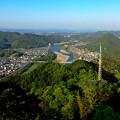 Photos: 岐阜城天守閣から見た景色 No - 26:長良川方面