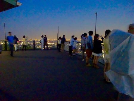 岐阜公園:展望レストランの展望台から見た夜景 - 27