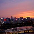 写真: 愛知芸術文化センターから見た夕焼け - 1