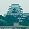 写真: 名古屋高速から見た名古屋城 - 3