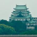 写真: 名古屋高速から見た名古屋城 - 4