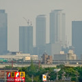 写真: エアポートウォーク3階フードコートから見た、名駅ビル群 - 6