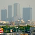 写真: エアポートウォーク3階フードコートから見た、名駅ビル群 - 8