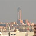 写真: エアポートウォーク名古屋:展望デッキから見た、夕暮れ時の東山スカイタワー - 2